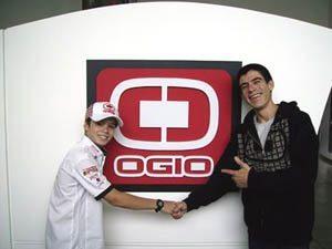 Eric Granado com Ogio
