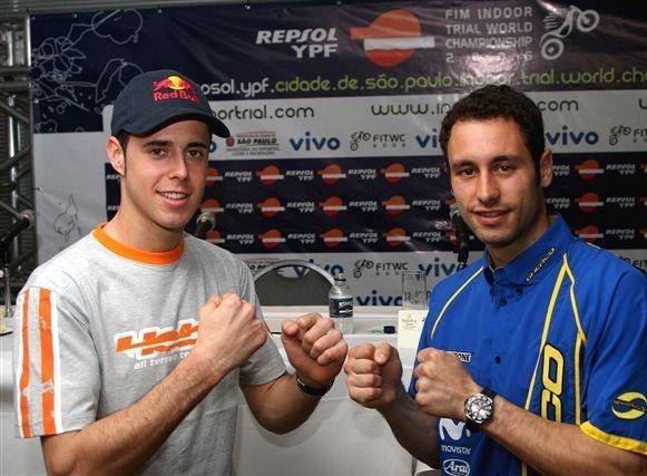 Foto: Raga levou o mundial de Trial Indoor em SÆo Paulo