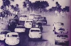 História: As primeiras corridas no autódromo. Foto: Arquivo FCA