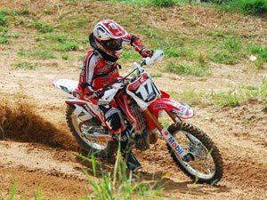 Foto: Thales Vilardi, piloto da MX2 do Team Honda