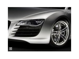 Faróis LED nos Audi R8