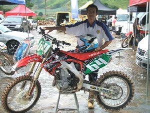 Foto: Flávio participou da primeira etapa do carioca