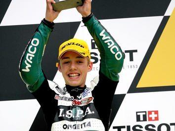 Folger reage ao primeiro pódio - Le Mans, GP 125