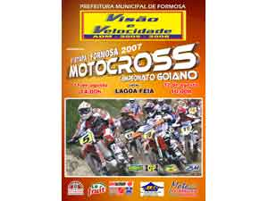 Formosa, a quarta etapa do Goiano de Motocross 2007