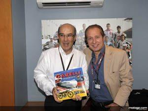 Foto: Paolo Berlusconi e Carmelo Ezpeleta abriram a discussão quanto a eventual regresso.