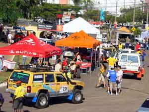Goiânia vive clima do Rally Internacional dos Sertões