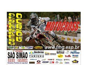 Goiano de Motocross 2009 começa em São Simão(GO)
