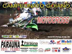 Goiano de Motocross, Paraúna faz a festa final