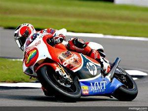 GP 250 - Barberá dispara para pole das 250cc em Donington