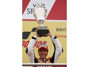 Foto: Andrea Dovizioso, piloto da equipe Repsol Honda RC212V na MotoGP