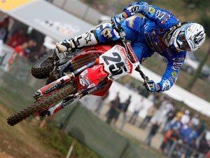 Foto: Clement Desalle, piloto Honda no Mundial de Motocross