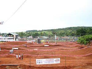 Foto: Estrutura montada para receber as principais feras do país