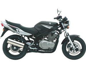 GS 500, preconceito, seguro, escape, kaos, etc