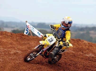 Gustavo Pessoa segue invicto no Paulista de Motocross
