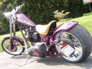Harley by Cabeça de Ferro, folhada a ouro
