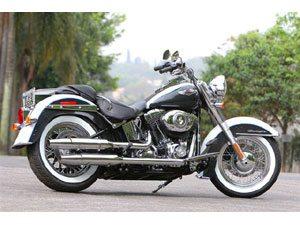 Harley-Davidson Softail Deluxe. estilo retrô