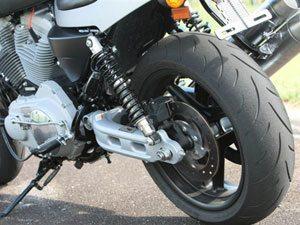 Harley-Davidson XR 1200 boa de curva