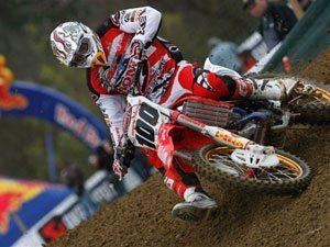 Foto: Kevin Strijbos, piloto Honda no Mundial de Motocros