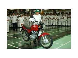 Honda  alcança marca histórica de 10 milhões de motocicletas produzidas no Brasil