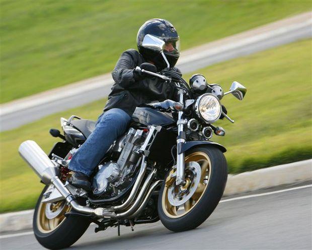 Honda CB1300 Super Four: uma autêntica nacked de alta cilindrada