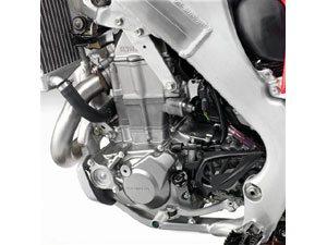 Honda CRF 450R 2009, injeção de adrenalina