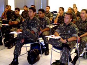 Foto: Alunos do Exército
