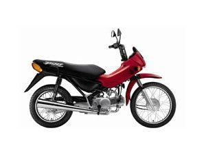 Honda Pop 100 2008 é opção de transporte ágil e prático para toda a família