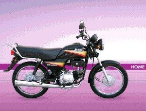 Foto: Honda Hero 100 da Öndia