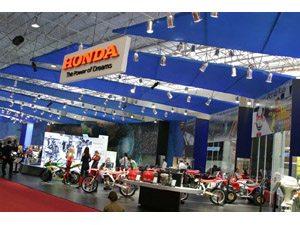 Foto: Stand da Honda