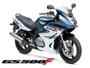 Foto: Suzuki GS 500F gringa