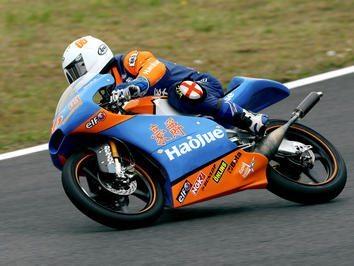 Hoyle (GP 125) apostado em ganhar experiência no primeiro ano