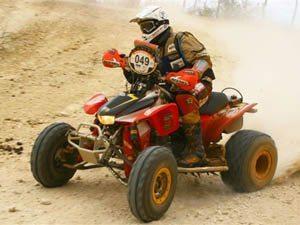 Foto: Maurício Costa Ramos - Campeão da categoria Quadriciclos do Rally Internacional dos Sertões