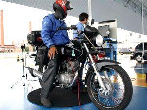 Foto: Na primeira semana, entre as 389 motocicletas inspecionadas 99 foram reprovadas ou rejeitadas.
