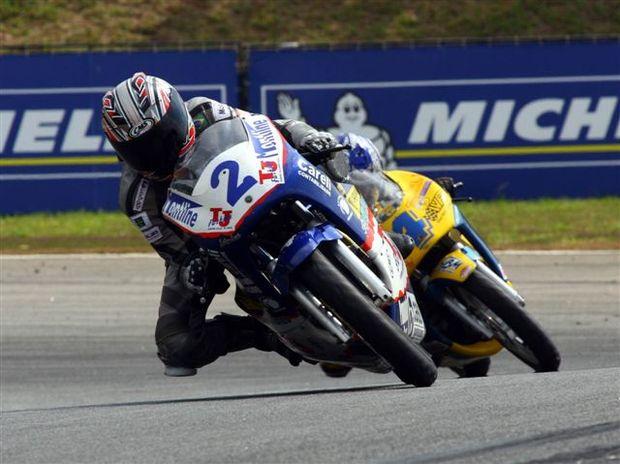 Foto: Pamonha est na lideran‡a da 250cc
