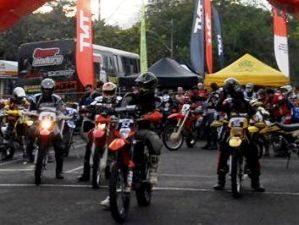 Foto: Largada das motos ser no sbado