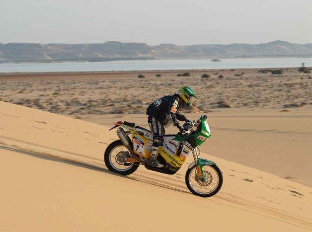 Jean Azevedo é o 4º colocado no Rally dos Faraós