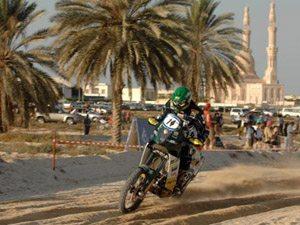 Foto: Jean Azevedo no UAE Desert Challenge