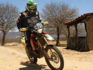 Foto: Jean Azevedo no Rally RN 1500
