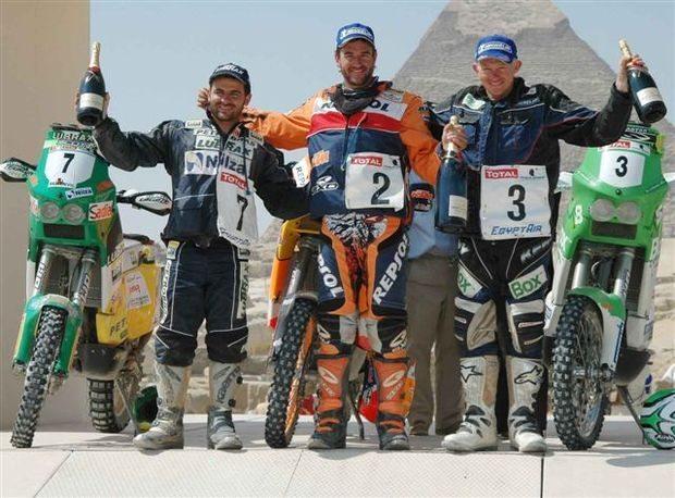 Jean é terceiro colocado no Rally dos Faraós
