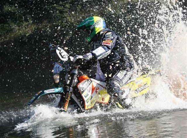 Foto: Jean e sua moto