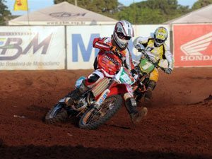 Foto: Jean Ramos, piloto de motocross do Team Honda