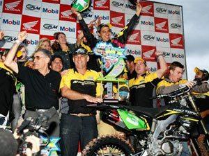 João Paulino Marronzinho chega em quinto e é campeão brasileiro de motocross