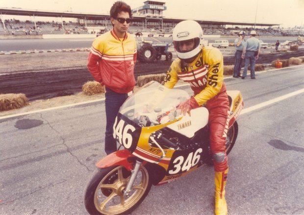 Foto: Netinho e Jacinto Sarachu em Daytona