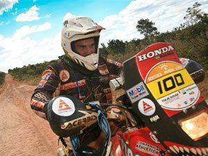 Foto: José Hélio, patrocinado pela Honda, na quinta etapa do Rally dos Sertões 2009 entre Palmas (TO) e Luis Eduardo Magalhães (BA)