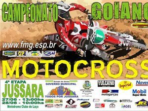Jussara realiza a 4ª etpa do Goiano de Motocross