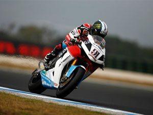 Foto: Leon Haslan, piloto Honda no mundial de SBK