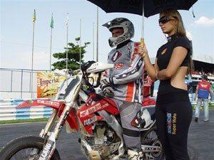 Kurt Rudolf campeão goiano de Supermoto 2008