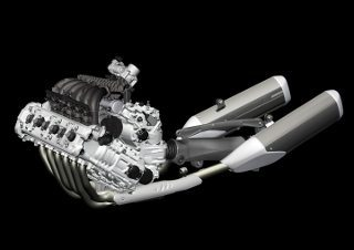 O motor do Concept 6 resolveu vários problemas inerentes como a largura total de apenas 555 mm