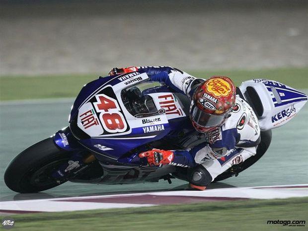 Lorenzo conquista polé na estreia no MotoGP no Qatar