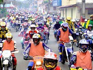Mais de 150 Motos na 1ª Trilha da Queda em Morro Grande (SC)
